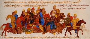 Смерть Святослава в битве с печенегами