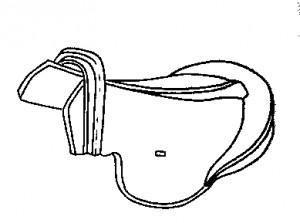 Седло древнетюркского типа. Кокэль VII—VIII вв.
