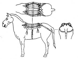 Боевой конь под седлом. Статуэтка из погребения Цинь Ши-хуана. III в. до н. э.