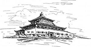 Дворец близ Абакана (реконструкция архитектора Г.Б. Щукина)