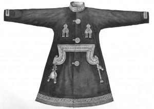 Одежда с бисерной вышивкой