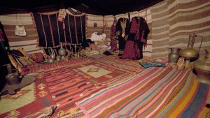 Бедуинский шатер.