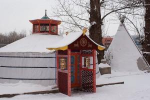 Буддийский храм.
